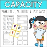 Measuring Capacity Metric Activities and Worksheets