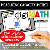 Measuring Capacity - Metric Units: Digital Math Centers