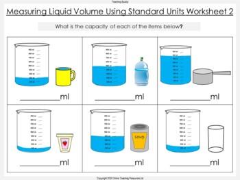 Measuring Liquid Volume Using Standard Units