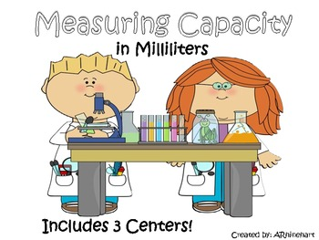 Measuring Capacity with Milliliters Pack