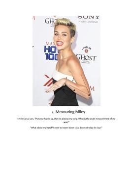 Measuring Celebrities (Measuring Angles)