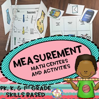 Measuring  ~ Center Activities and Worksheets
