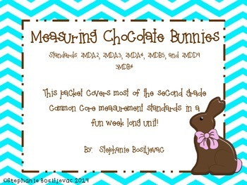 Measuring Chocolate Bunnies (inches and centimeters, length)