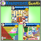 Measuring Clip Art BUNDLE