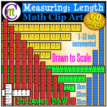 Measuring Clip Art   Length