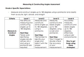 Measuring & Constructing Angles