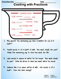 Measuring Cup Fractions