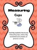 Measuring Cups-For Special Education and Autism