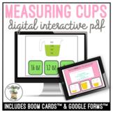 Measuring Cups Digital Interactive Activities