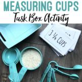 Measuring Cups Flashcards Task Bin Activity