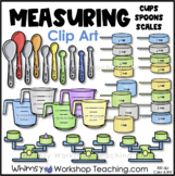 Measuring Cups, Measuring Spoons and Scales Clip Art