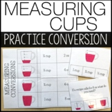 Measuring Cups Task Cards - Life Skills Kitchen Cooking - Special Education