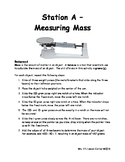 Measuring Density - Lab Stations
