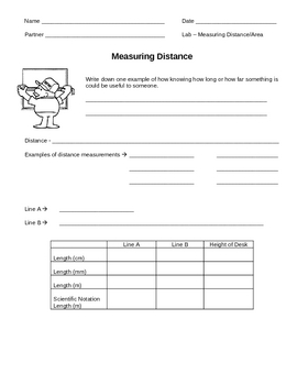 Measuring Distance and Calculating Area