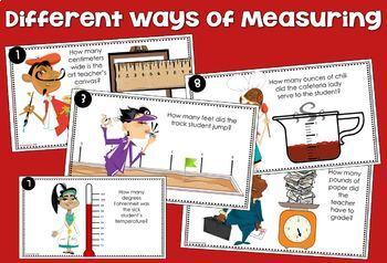 Measuring Distances & Amounts to the Quarter - Digital Resource Google Classroom