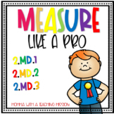 Measuring & Estimating Inches & Centimeters - 2.MD.1, 2.MD