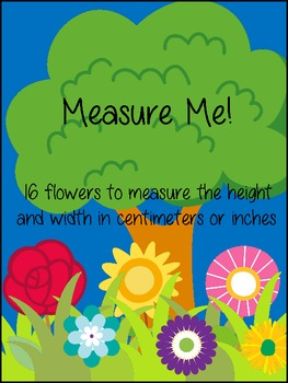 Measuring Flowers in Centimeters and Inches