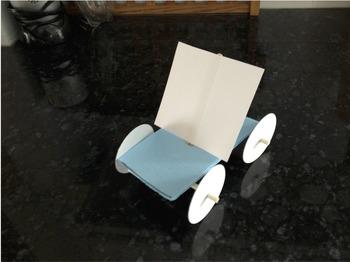 Try It Before You Buy It! NGSS Force and Motion - Sail Car (grades K &3)