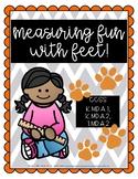 Nonstandard Measuring Fun with Feet