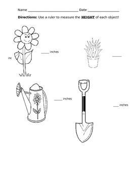 Measuring Garden items