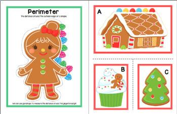Measuring Gingerbread Treats - Area & Perimeter