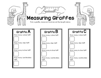 Measuring Giraffes