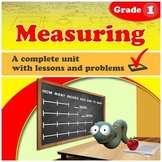 Measuring - Grade 1 - complete unit (Distance Learning)