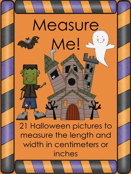 Measuring Halloween Pictures with Centimeters or Inches