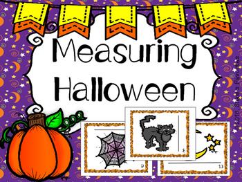 Measuring Halloween Scavenger Hunt
