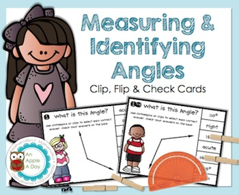 Measuring & Identifying Angles: Clip, Flip and Check