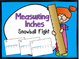 """Fractions of an Inch """"Measuring Length Game"""""""