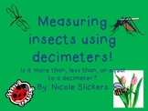 Measuring Insects Using Decimeters
