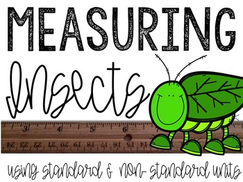 Measuring Insects: Using Standard and Non-Standard Measures