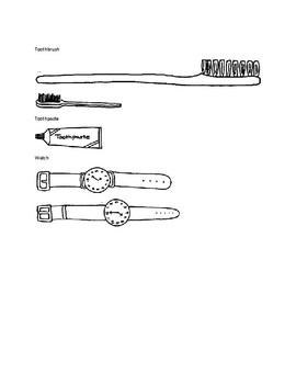 Measuring Items Clip Art