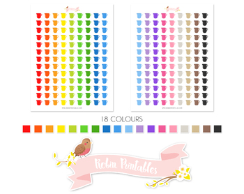 Measuring Jug Printable Planner Stickers