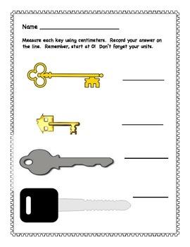 Measuring Keys
