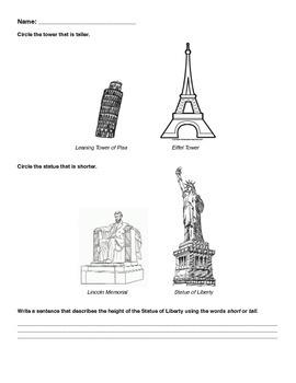 Measuring Landmarks