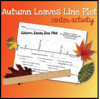 Measuring Leaves Line Plot