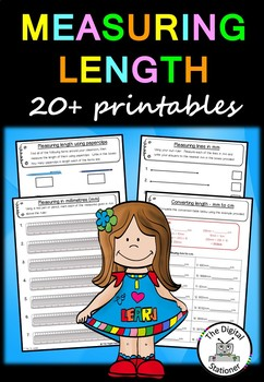 Measuring Length - 20+ printables (Measurement & Data)