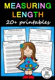 Measuring Length - 20+ printables (Measurement & Data)
