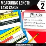 Measuring Length - 2nd Grade Math Flip and Go Cards