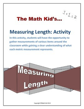 Measuring Length: Activity