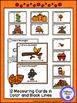 Measuring Length - Autumn Fun Measurement Cards