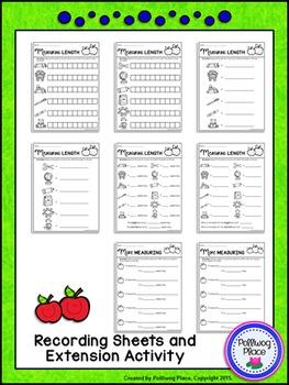 Measuring Length - Back to School Measurement Cards