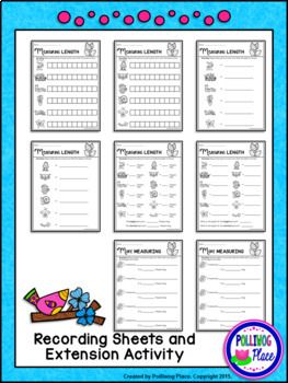 Measuring Length Bundle - Measurement Cards for All Year Long
