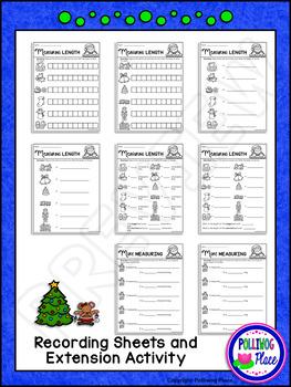 Measuring Length - Christmas Measurement Cards