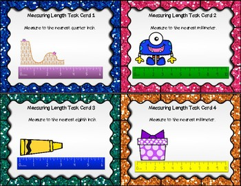 Measuring Length Differentiated Task Cards