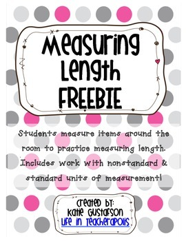 Measuring Length FREEBIE!