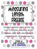 Measuring Length FREEBIE!
