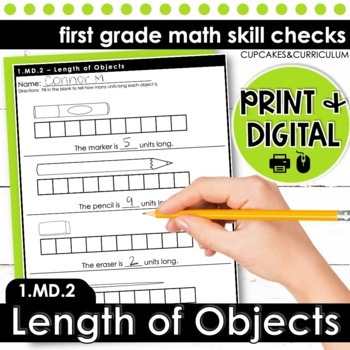 Measuring Length - First Grade Print and Go